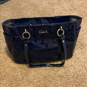 Coach Patent Leather Purse